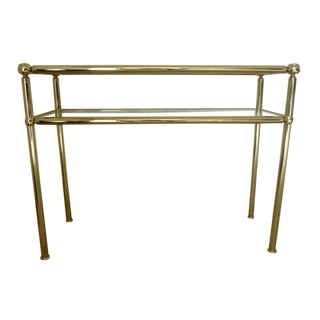 Italian Mid-Century Console Tables (3 Available) For Sale