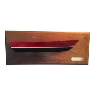 """Nautical Half Model """"Katama 30"""" Powerboat For Sale"""