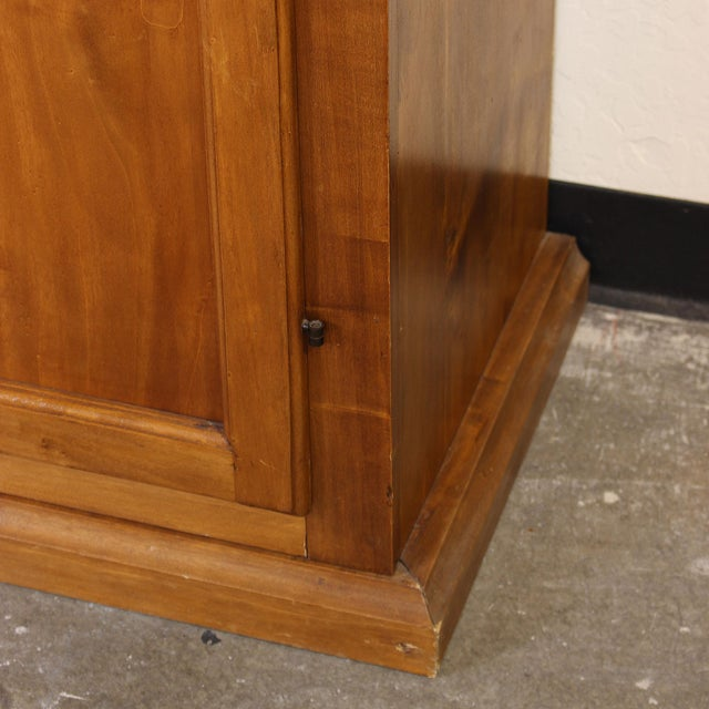 Brown 20th C. Large Italian Open Bookcase For Sale - Image 8 of 13