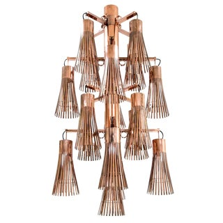 Kam Tin - Copper Chandelier - 2018 For Sale
