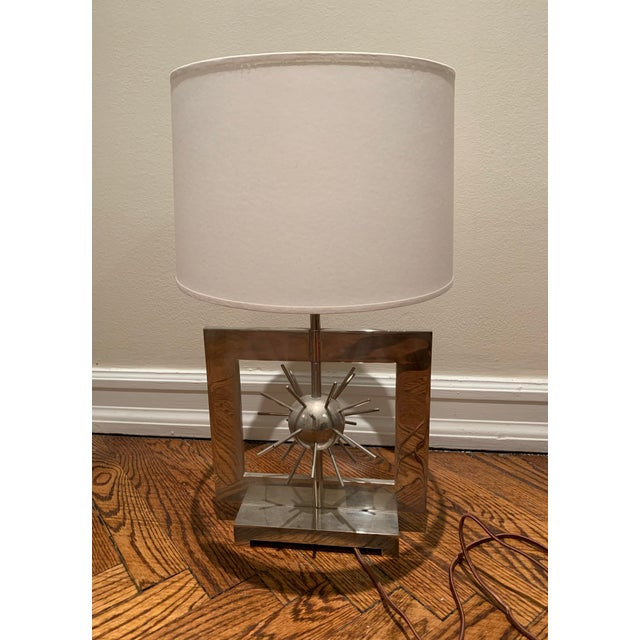2010s Spiked Accent Table Lamp For Sale - Image 5 of 5