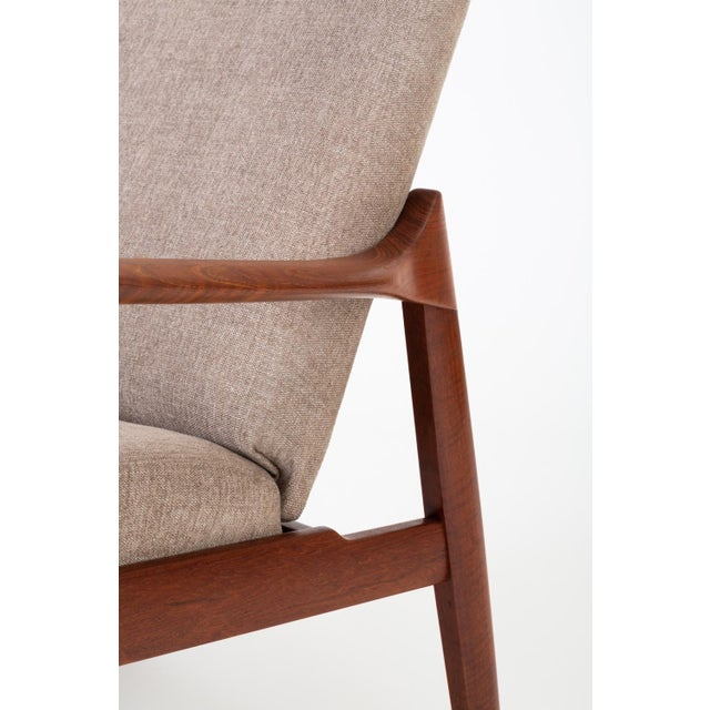 Model 125 Lounge Chair by Tove & Edvard Kindt-Larsen for France & Son For Sale - Image 11 of 13