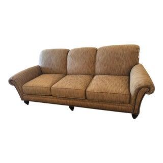 Tommy Bahama Royal Kahala Edgewater Sofa With Nailhead Accent For Sale