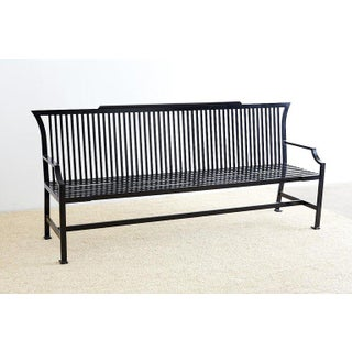 Contemporary Aluminum Park Bench or Settle Preview