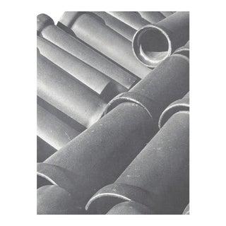 Brett Weston New York Sewer Pipes Photograph