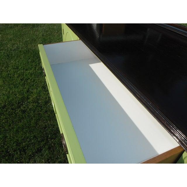 Vintage Green Buffet/Sideboard - Image 5 of 5