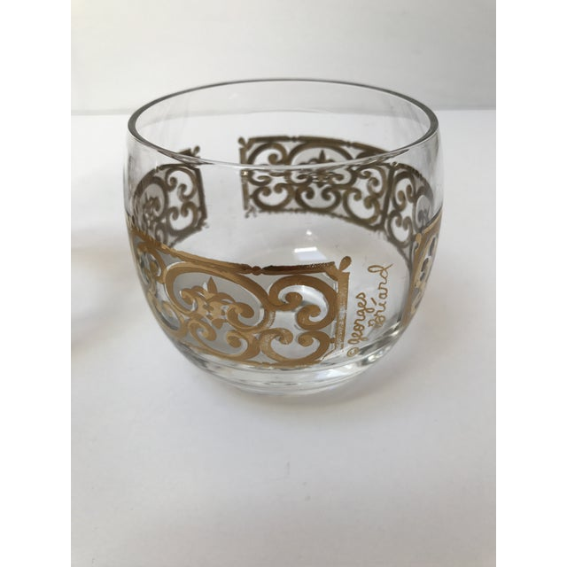 Georges Briard Roly Poly Filligree Glasses -- A Pair - Image 4 of 5