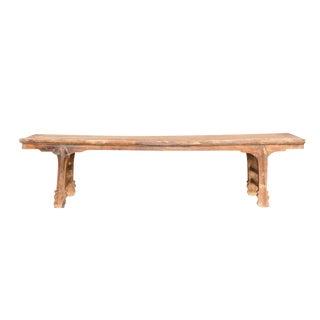 Antique Altar Bench For Sale