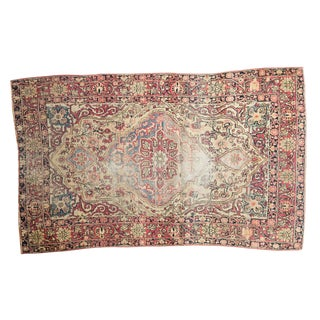 "Antique Kermanshah Rug - 4' x 6'6"" For Sale"