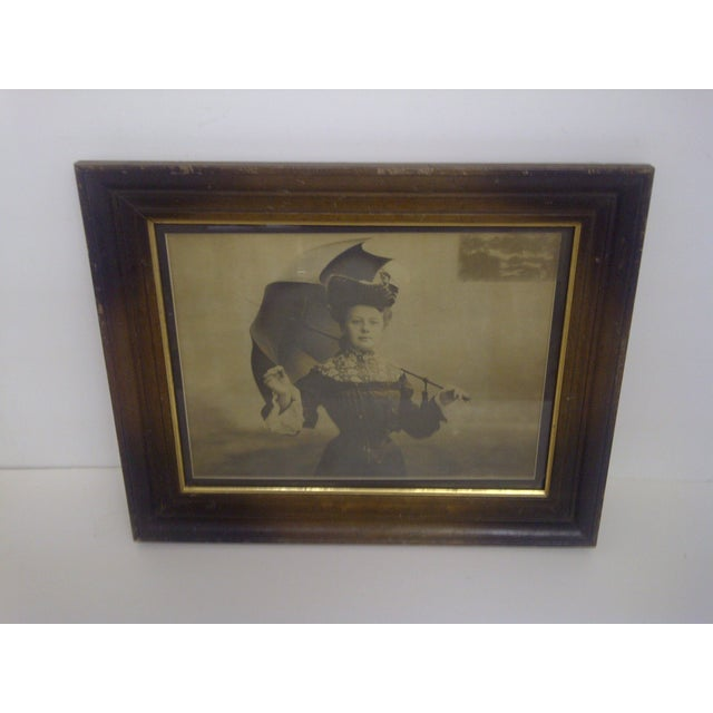 """Victorian Lady"" by Paul Borcl, Signed 1905 - Image 2 of 7"