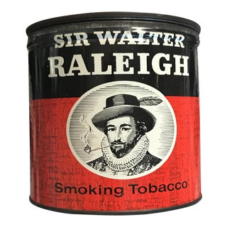 Vintage Tobacco Tin For Sale