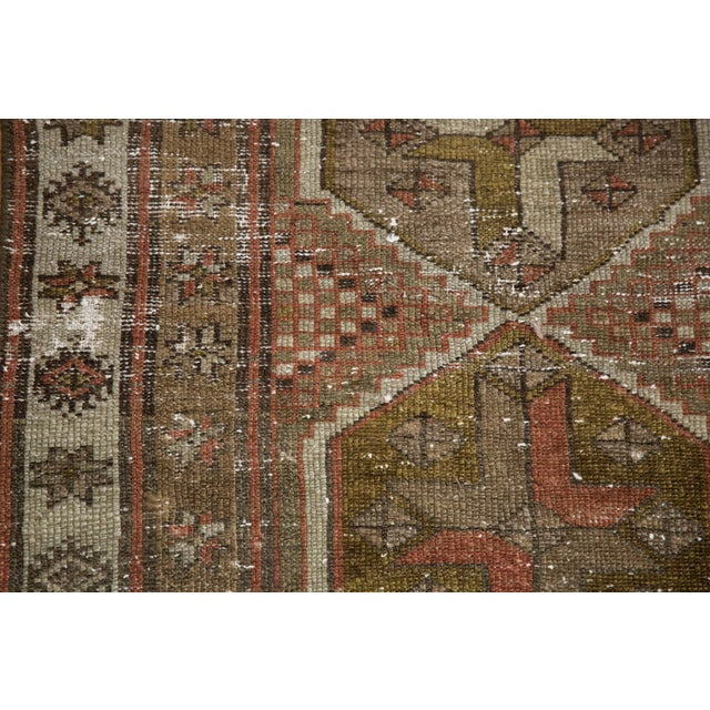 """Vintage Distressed Caucasian Rug Runner - 2'9"""" X 11'1"""" For Sale - Image 12 of 13"""