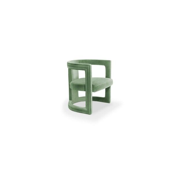 Covet Paris Rukay Bold Armchair For Sale - Image 4 of 8