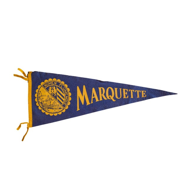 Marquette Felt Flag For Sale - Image 5 of 5