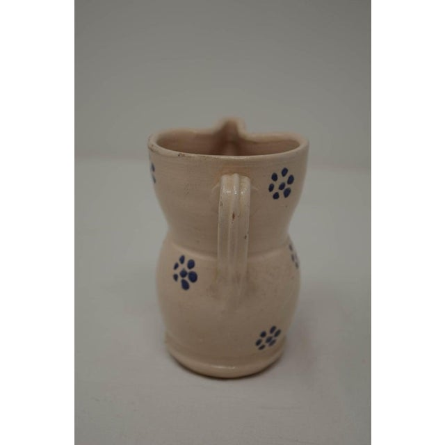 Vintage Puglia Apulia Italy Ceramic Pitcher For Sale In Houston - Image 6 of 7