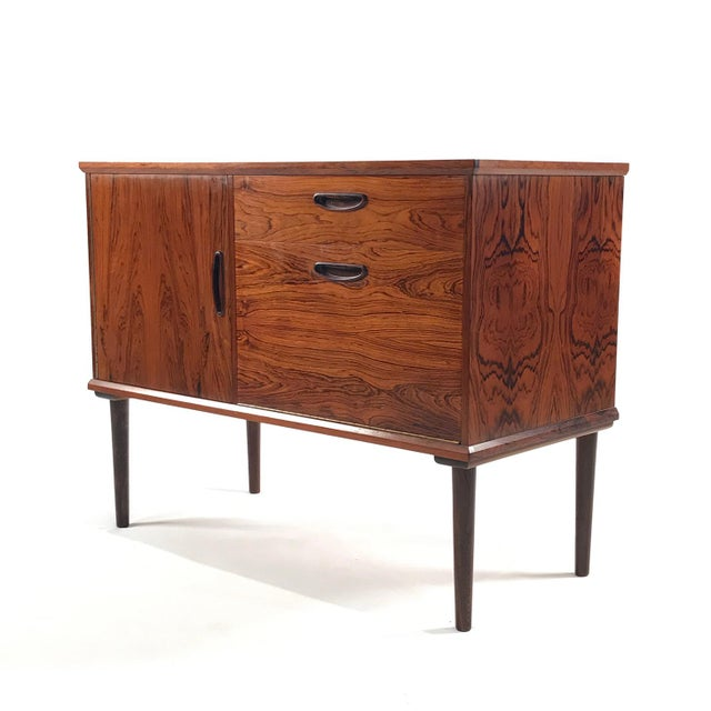 Vintage Danish Rosewood Cabinet - Image 2 of 10