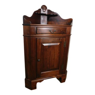 Lexington Bob Timberlake Solid Walnut Low Corner Cabinet For Sale