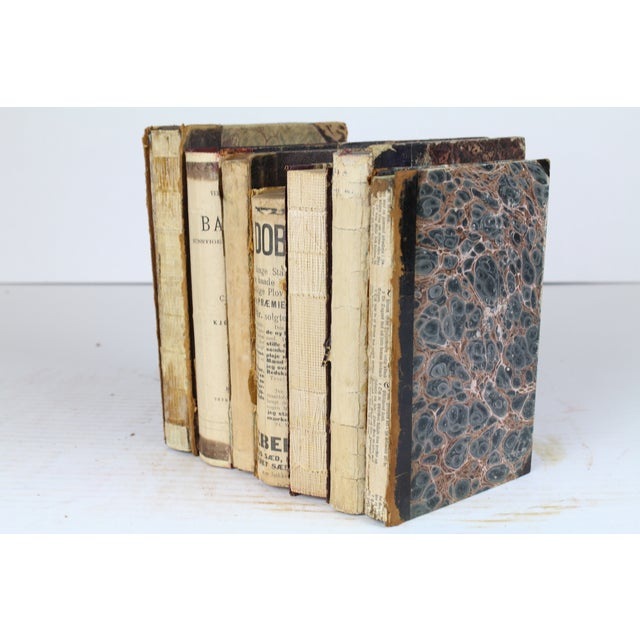 Deconstructed Antique Books - Set of 6 - Image 2 of 4