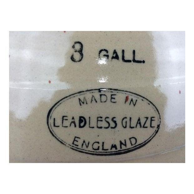 English Stoneware Spirit Jug Lamp - Image 3 of 3