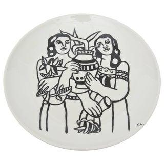 After Fernand Leger Porcelain Plate For Sale