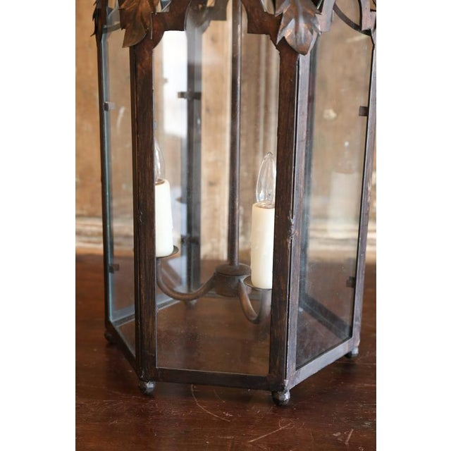 Italian Two Italian Style Lanterns For Sale - Image 3 of 8
