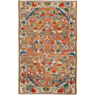 """Vintage Persian Malayer Rug – Size: 2' 2"""" X 3' 7"""" For Sale"""