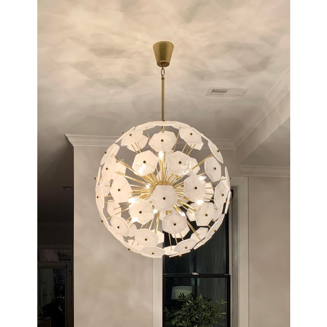 Jonathan Adler Jonathan Adler Vienna Globe Chandelier Light Pendant For Sale - Image 4 of 9