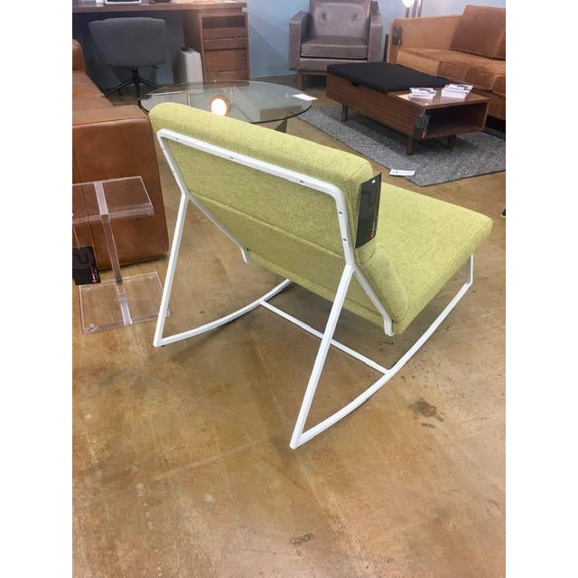 Modern Gus Modern Gt Rocking Chair in Dandelion For Sale - Image 3 of 6