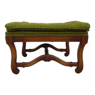 Vintage Mid-Century Bench For Sale