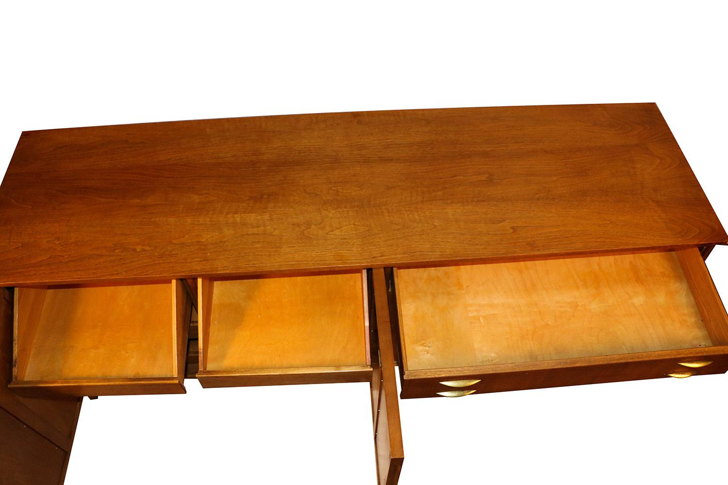 Awesome Mid Century Modern Triple Dresser West Michigan Furniture Company   Image 2  Of 9
