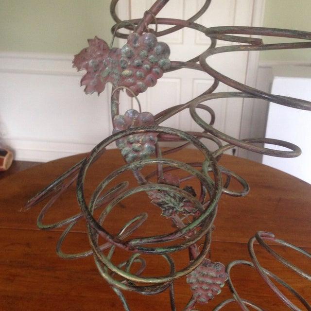 Vintage Metal Hanging Bottle Tree - Image 4 of 11