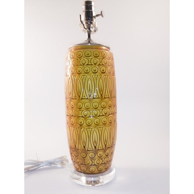 Mid-Century Modern Electrified Mid-Century West German Vase For Sale - Image 3 of 6
