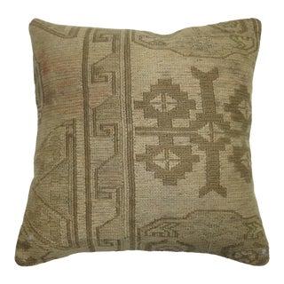 Flat-Weave Soumac Rug Pillow For Sale