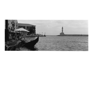 """""""Port of Chania, Greece"""" Contemporary Cityscape Original Photograph by Louise Weinberg For Sale"""