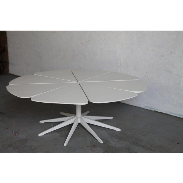 Richard Schultz Vintage Richard Schultz White Petal Coffee Table For Sale - Image 4 of 6