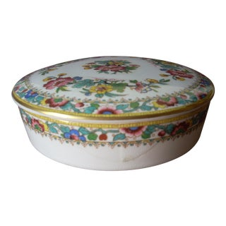 Coalport Bone China Box For Sale