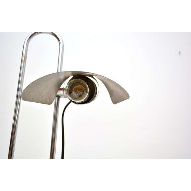 Chrome Mid-Century Modern Counterbalance Desk Lamp Attributed to Gae Aulenti For Sale - Image 7 of 10