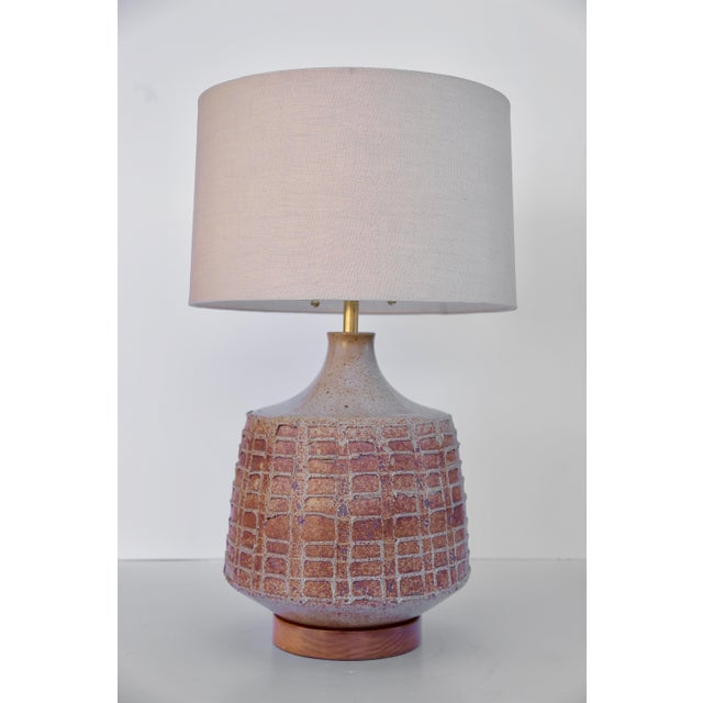 David Cressey David Cressey Pottery Table Lamp For Sale - Image 4 of 4