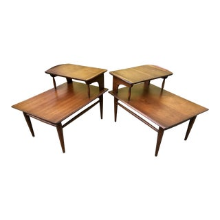 Mid Century Modern Side Tables by Bassett