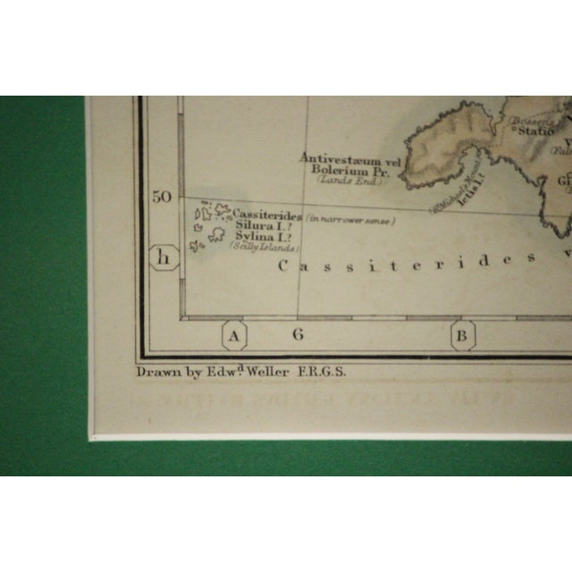 Britannia Map by Edw. Weller For Sale In New York - Image 6 of 8