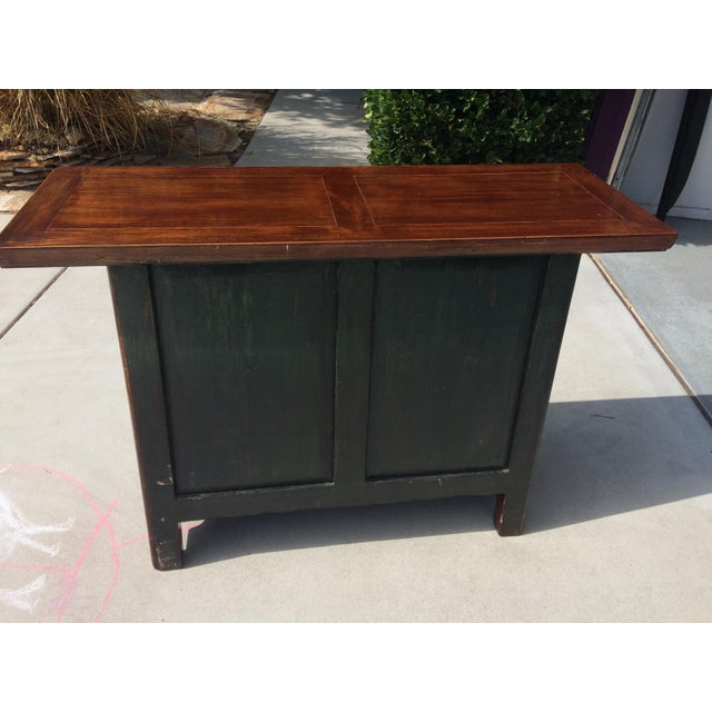 Asian Solid Wood Cabinet - Image 5 of 9