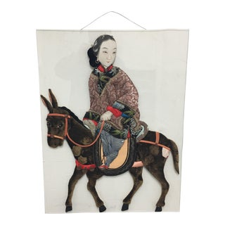 Quilted Asian Figurative Wall Art
