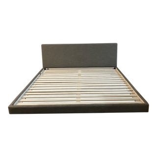 California King Article Tessu Platform Upholstered Bed Frame For Sale