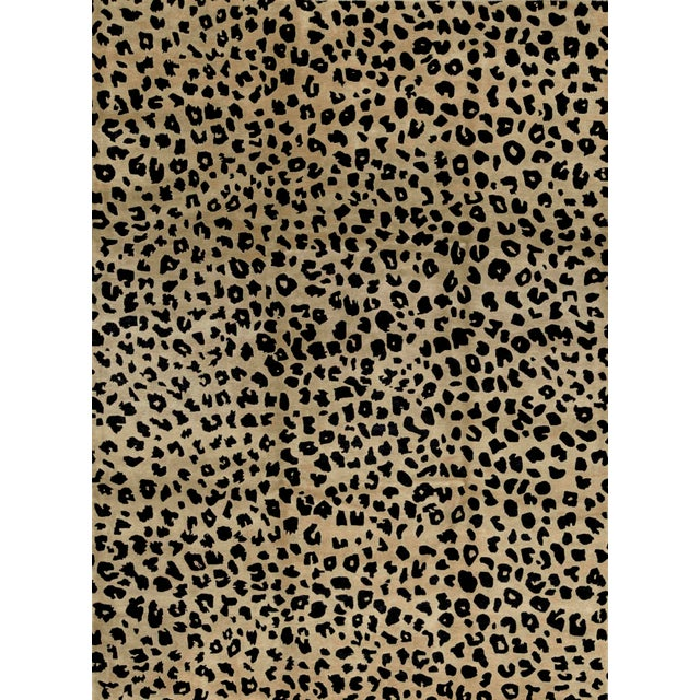 Contemporary Hand Woven Animal Print Rug - 9'1 X 12'2 For Sale - Image 4 of 4