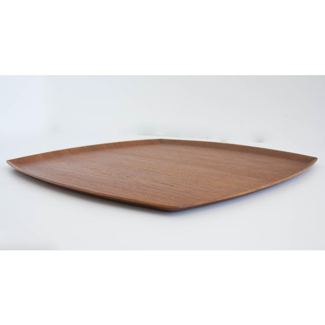 Molded Teak Serving Tray - Image 3 of 5
