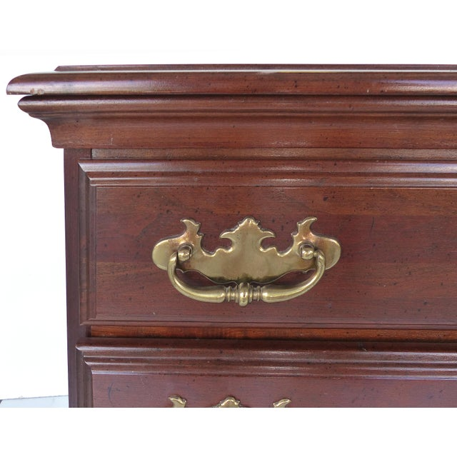 Chippendale Style Mahogany Nightstands - A Pair - Image 7 of 9
