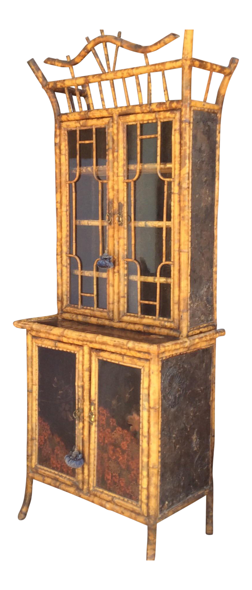 Antique China Hutch >> Vintage Used China And Display Cabinets For Sale Chairish