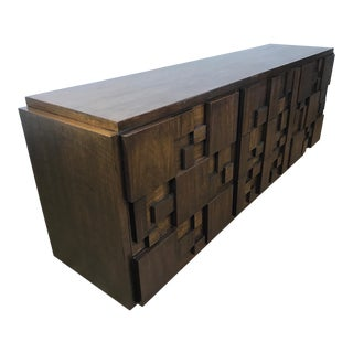 Lane Brutalist 9-Drawer Dresser