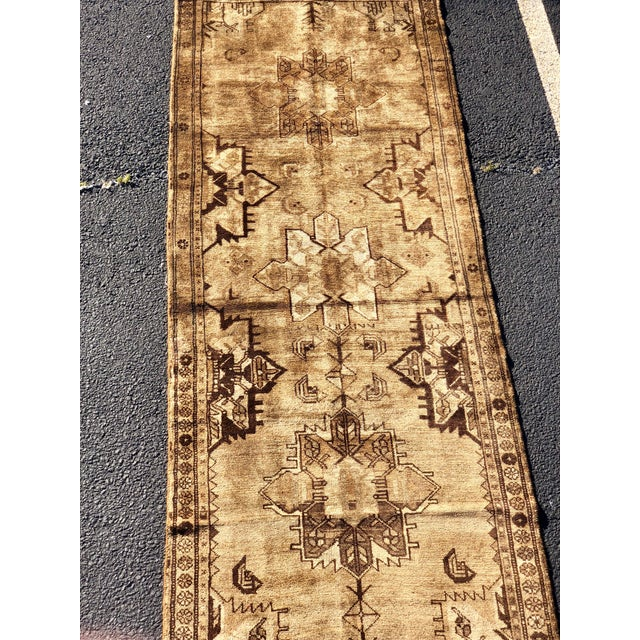 "3'6""x9'9"" 70yr Old Vintage Persian Hamadan Rug"