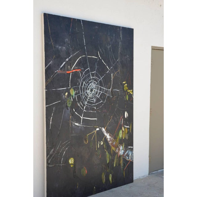 Contemporary Oversized Oil on Canvas Painting by Portia Hein For Sale - Image 3 of 6